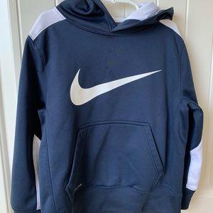 Boys Nike Navy Blue hoodie sweatshirt XS